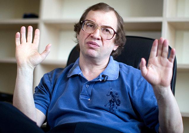 Serguéi Mavrodi, foto de archivo