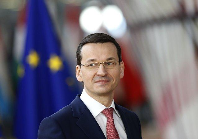 Mateusz Morawiecki, el primer ministro polaco