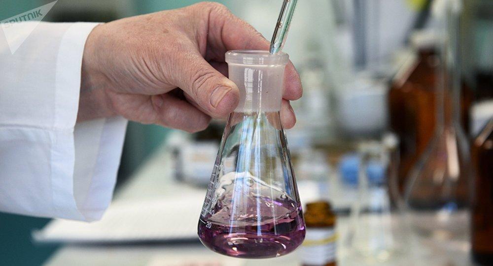 Un laboratorio de química (imagen referencial)