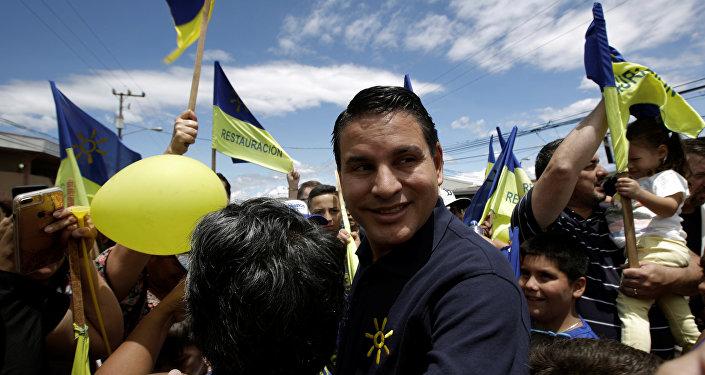 Fabricio Alvarado, candidato a la presidencia de Costa Rica