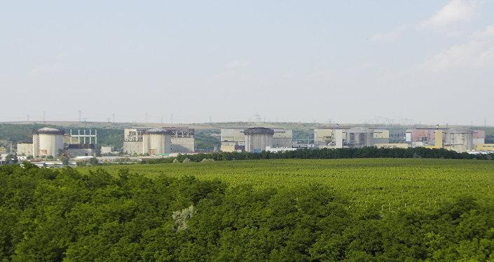 La central de Cernavoda, Rumanía