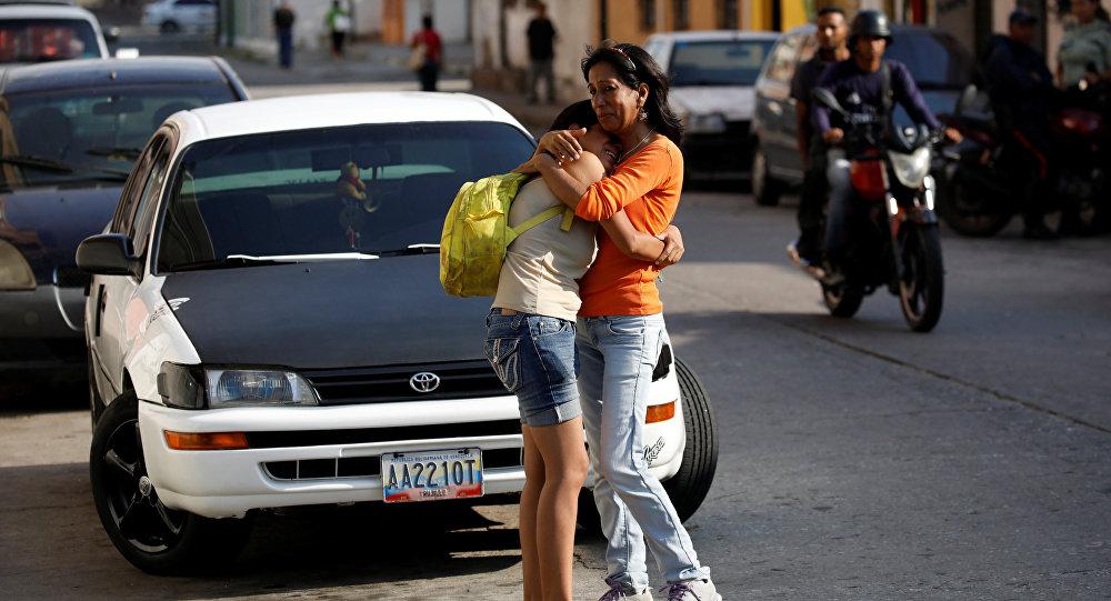 Los parientes de las víctimas, fallecidas en la cárcel en Venezuela