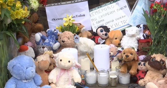 Los británicos muestran su pesar por la tragedia en Kémerovo