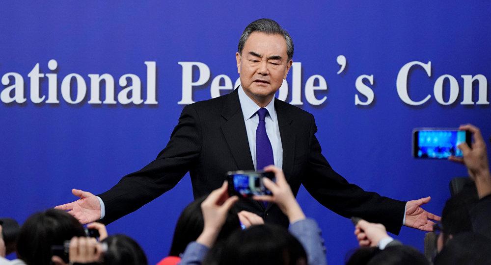 El ministro de Exteriores de China, Wang Yi