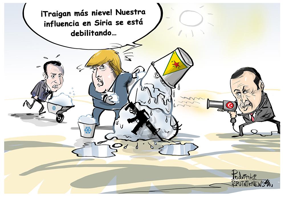 Macron decide apoyar a las Fuerzas Democráticas Sirias