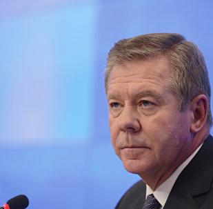 El vicecanciller ruso, Guennadi Gatílov (archivo)