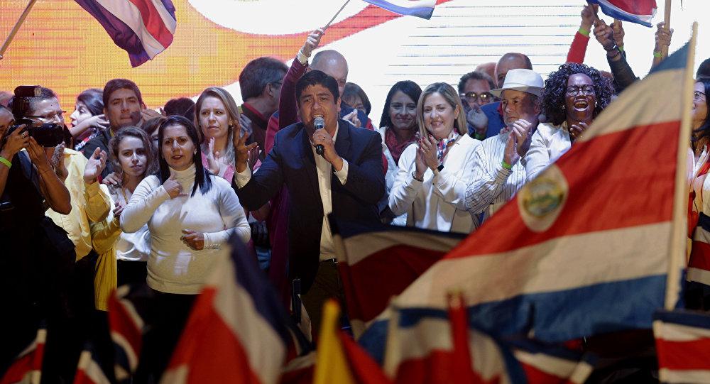 Carlos Alvarado, el ganador de las presidenciales en Costa Rica ...