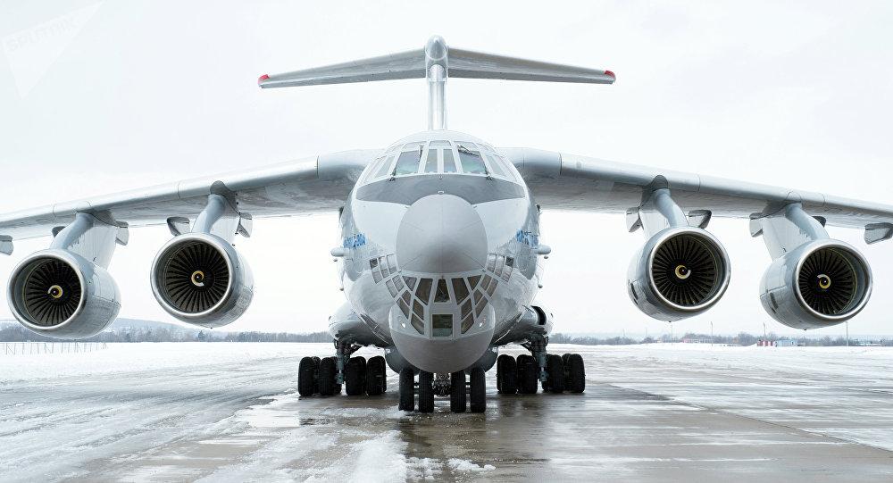 Avión de transporte militar IL-76MD-90A