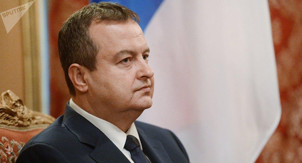 Ivica Dacic, ministro de Exteriores de Serbia