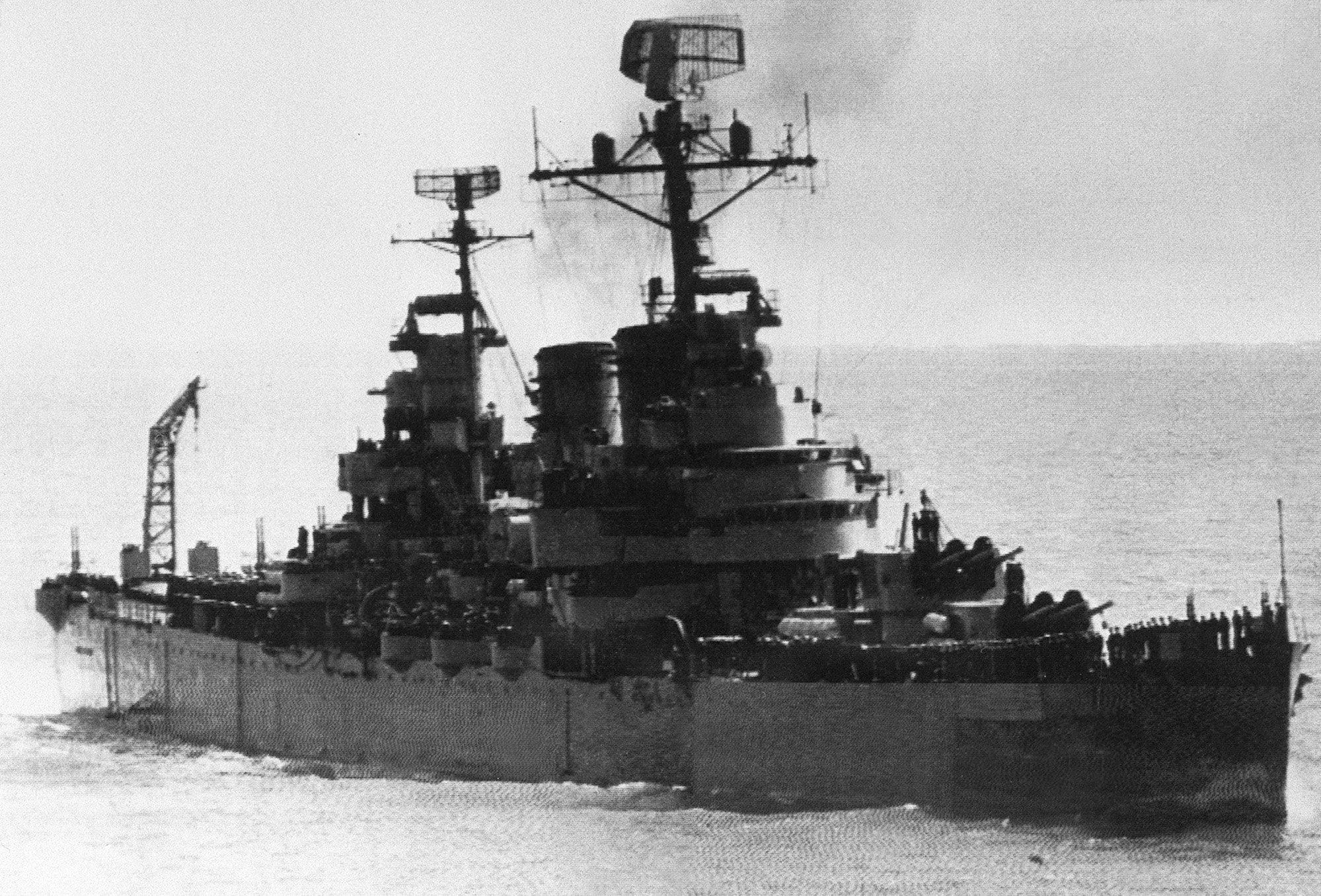 Crucero General Belgrano (archivo)