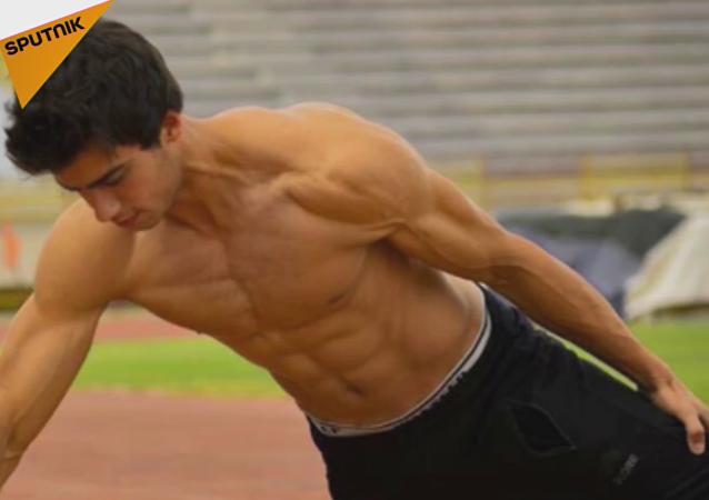 El Bruce Lee sirio rompe un récord mundial