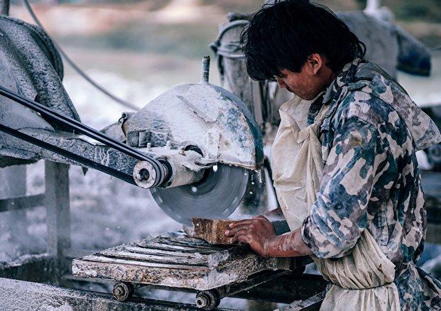 Trabajador indio (imagen referencial)