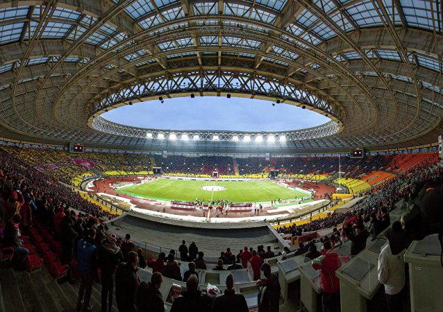 El estadio moscovita de Luzhniki