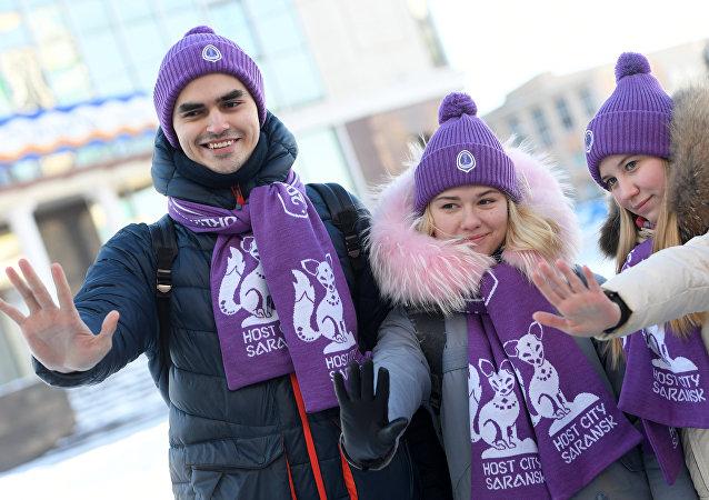 Los voluntarios de Saransk para el Mundial 2018