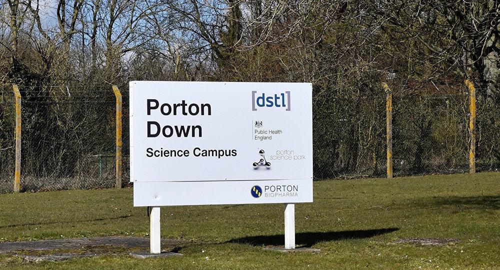 El centro científico de Porton Down, ubicado a ocho kilómetros de Salisbury, el Reino Unido