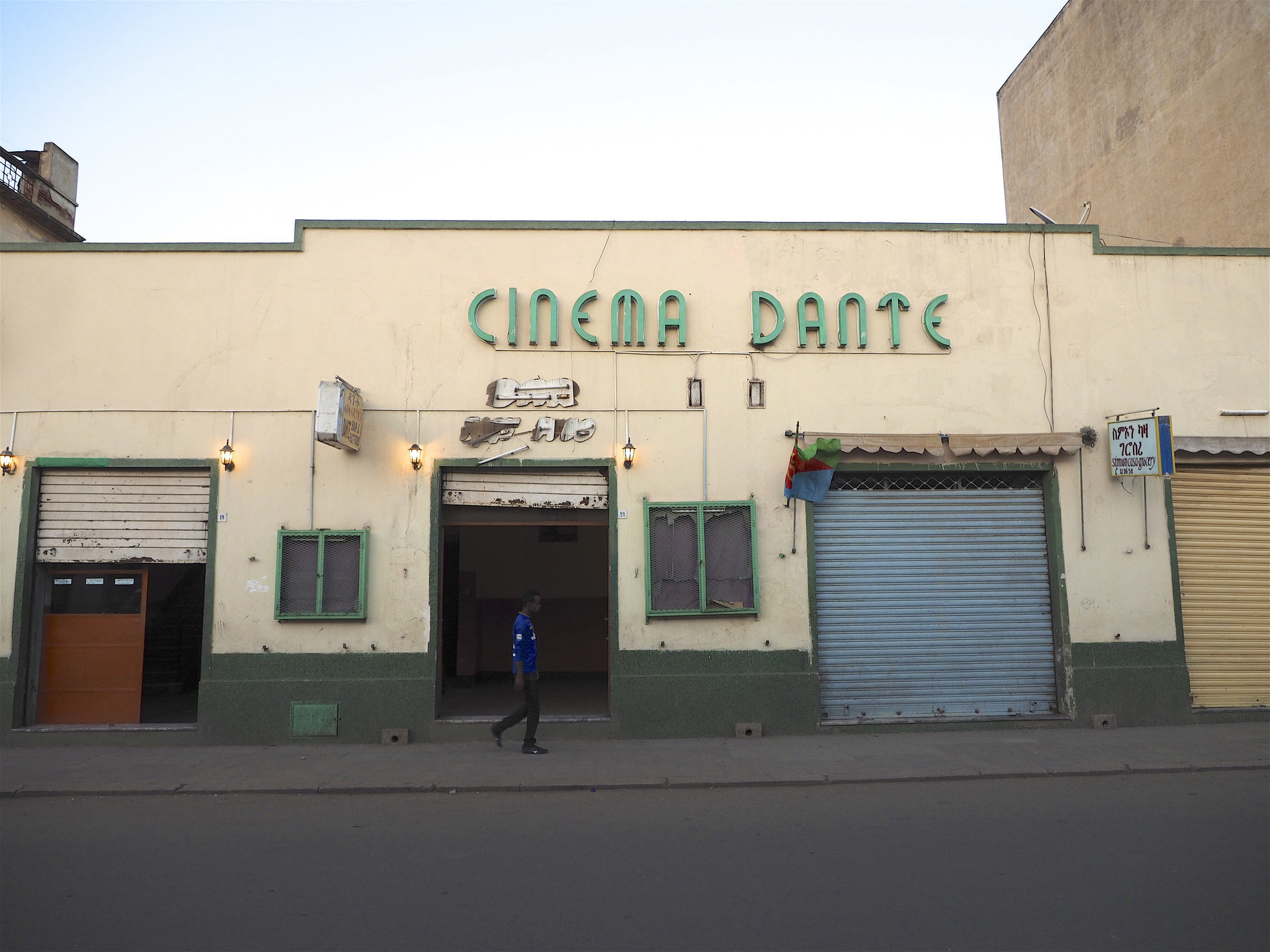 A cinema called Dante in Asmara, the capital of Eritrea