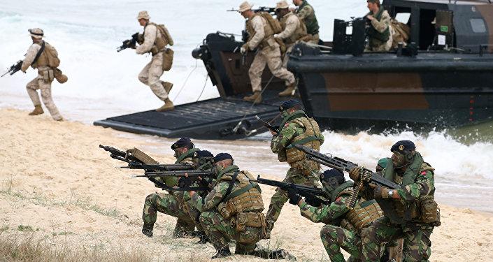 Maniobras militares Trident Juncture, Portugal, 5 de noviembre de 2015