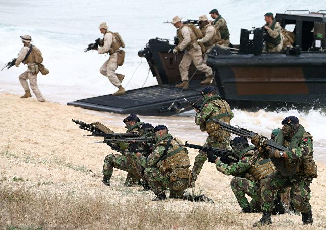 Maniobras militares Trident Juncture (archivo)