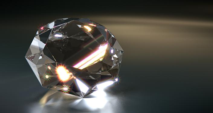 Un diamante, imagen referencial