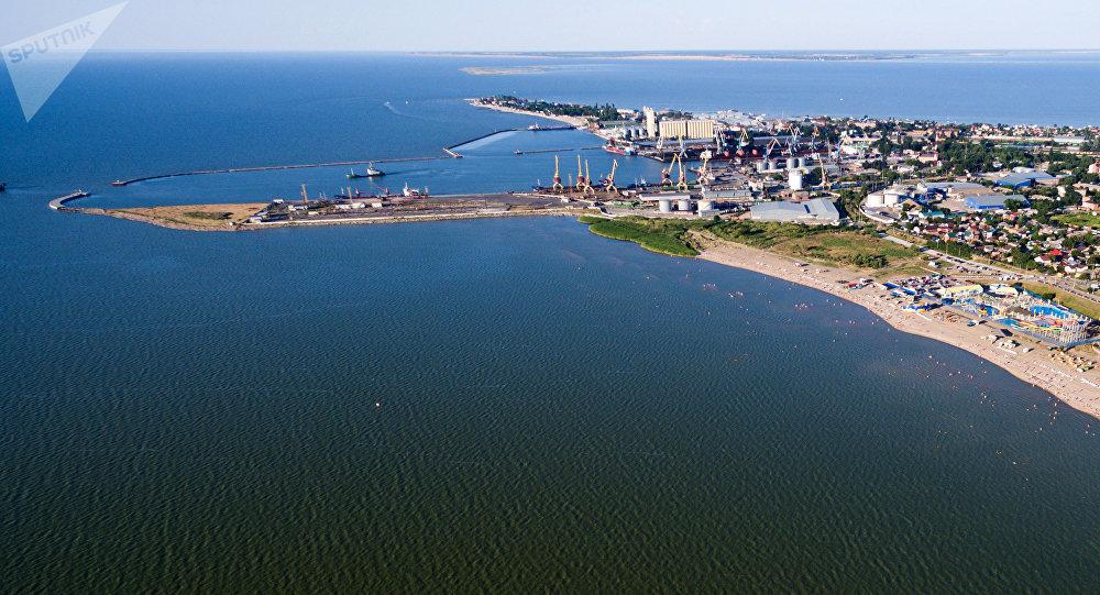 El puerto del mar de Azov (archivo)