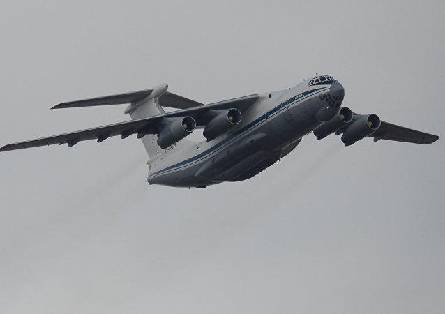 Un Il-76MD, foto de archivo
