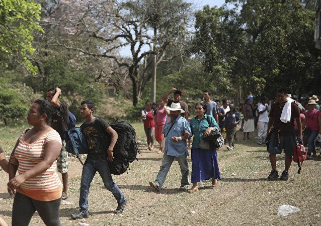 Migrantes de América Central (archivo)