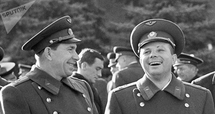El retrato de Yuri Gagarin