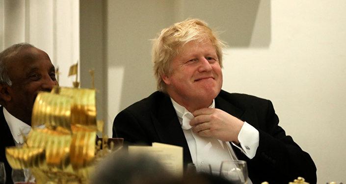 El Secretario de Asuntos Exteriores del Reino Unido, Boris Johnson