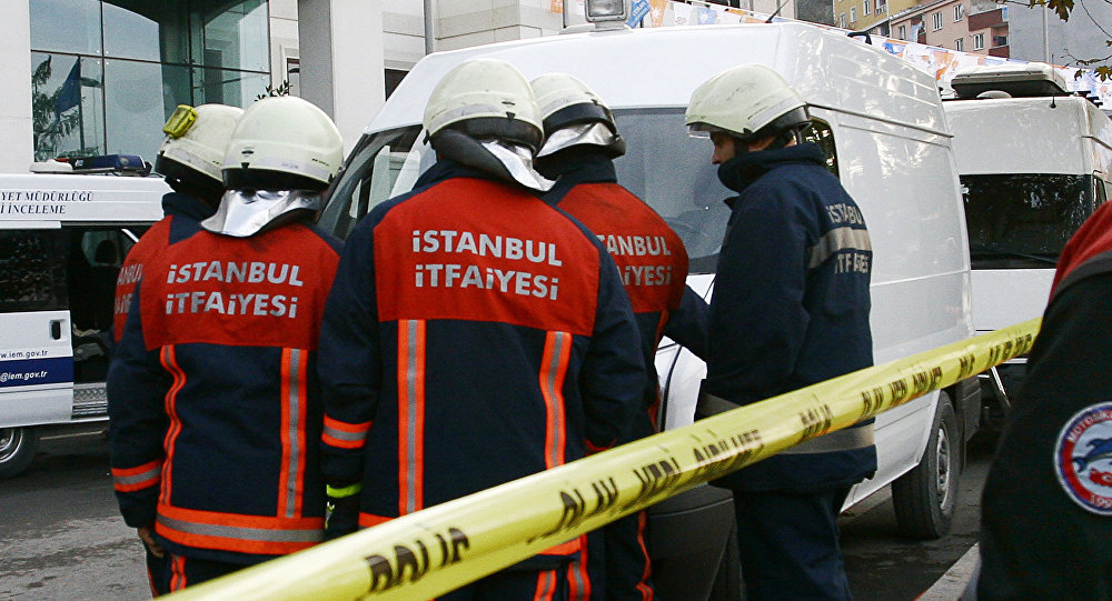 Turkish firefighters. (File)