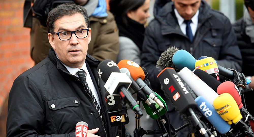 Jaume Alonso Cuevillas, abogado del expresidente catalán Carles Puigdemont