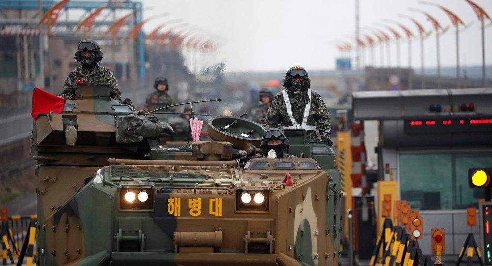 Las maniobras de EEUU y Corea del Sur