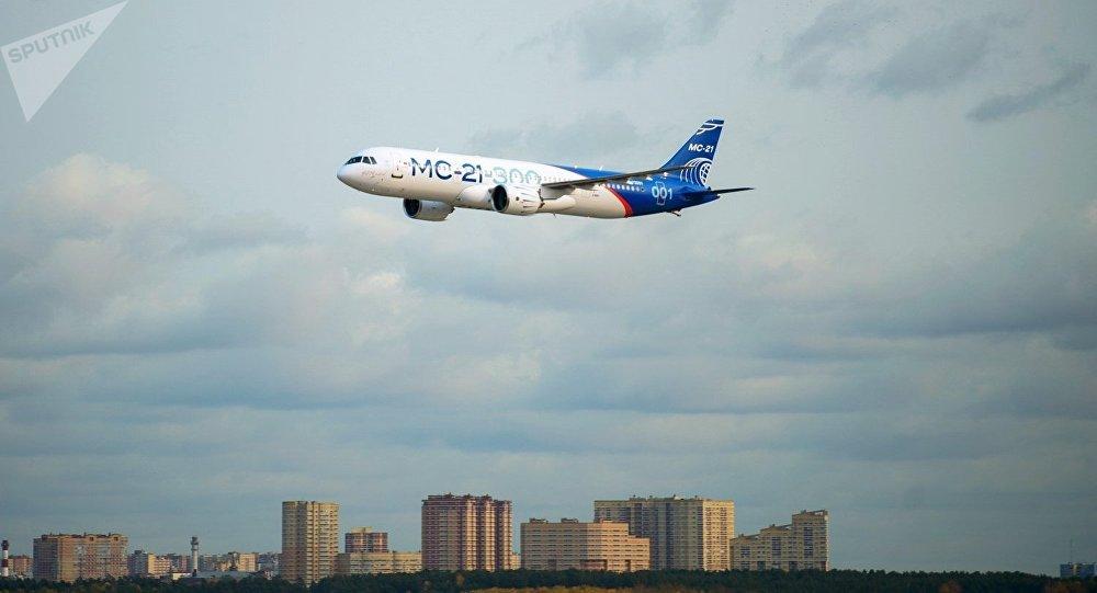 El nuevo avión ruso MC-21