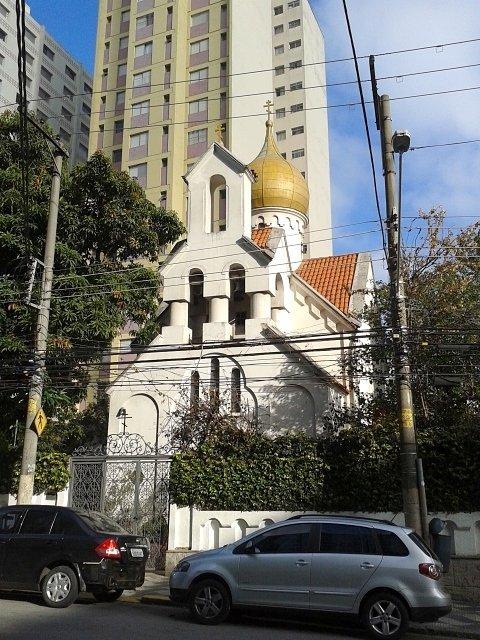 Iglesia ortodoxa de San Nicolás, Brasil