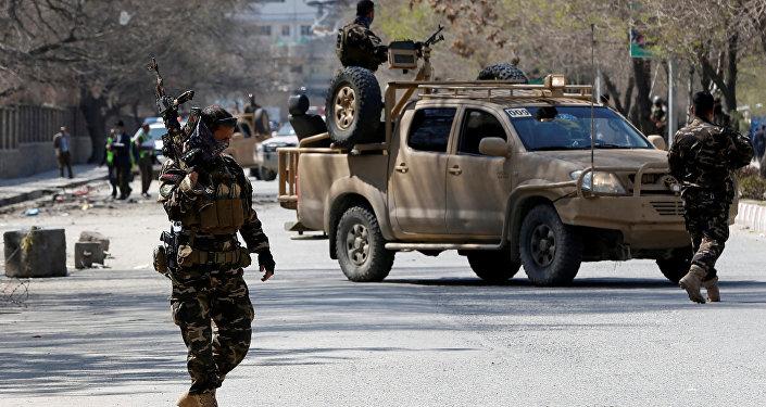 Los militares de Afganistán