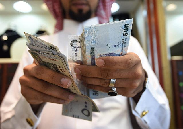 Riyales saudíes (imagen referencial)