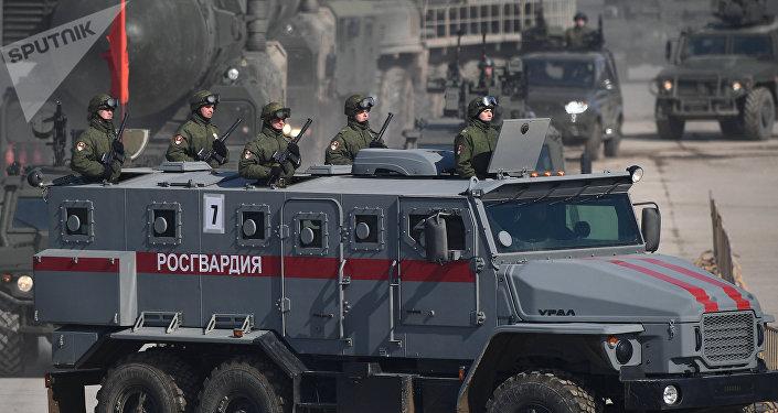 Vehículo blindado Ural