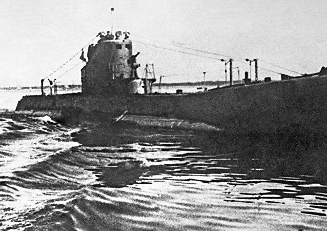 Un submarino de la clase Schuka (archivo)