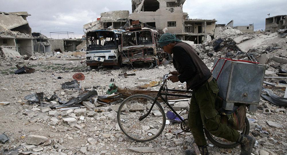 La situación en la ciudad de Duma, Siria