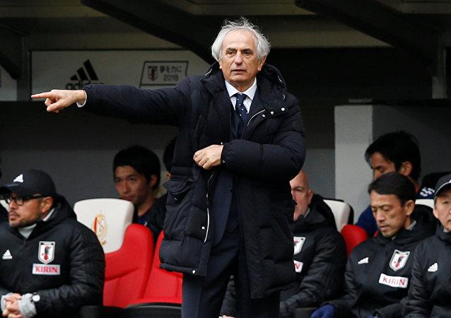 Vahid Halilhodzic, exdirector técnico de la selección de fútbol de Japón