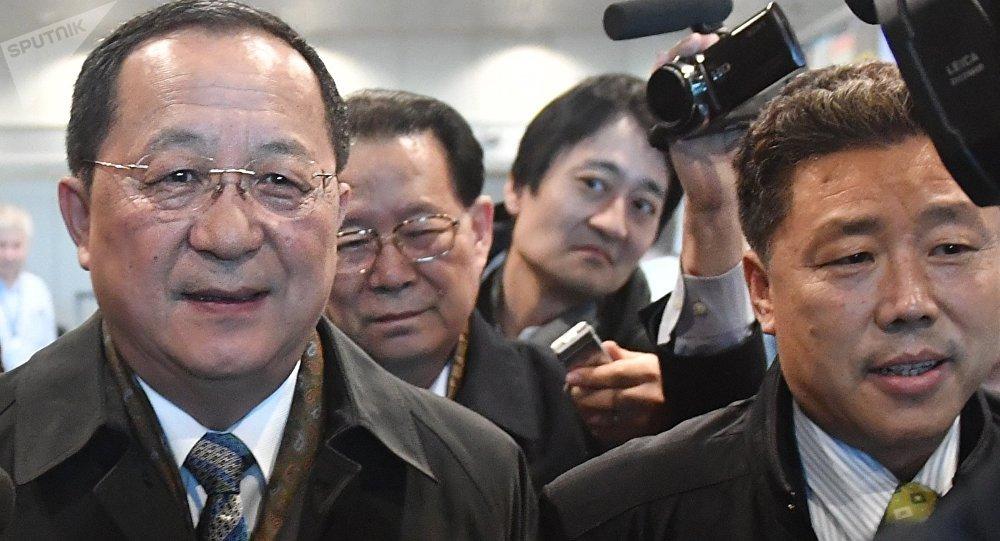Ri Yong-ho, ministro de Asuntos Exteriores de Corea del Norte