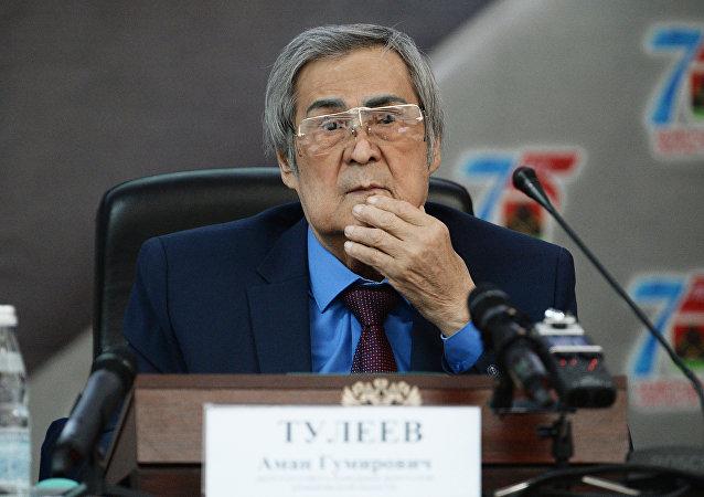 Amán Tuléev, exgobernador de la provincia siberiana de Kémerovo
