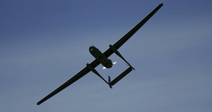 Un dron israelí (Archivo)