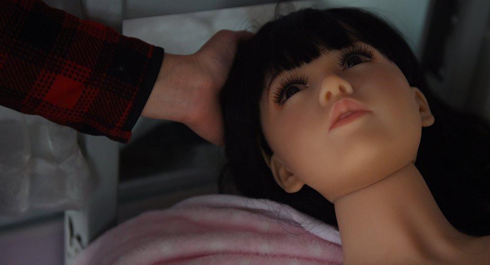 Una muñeca sexual, imagen referencial
