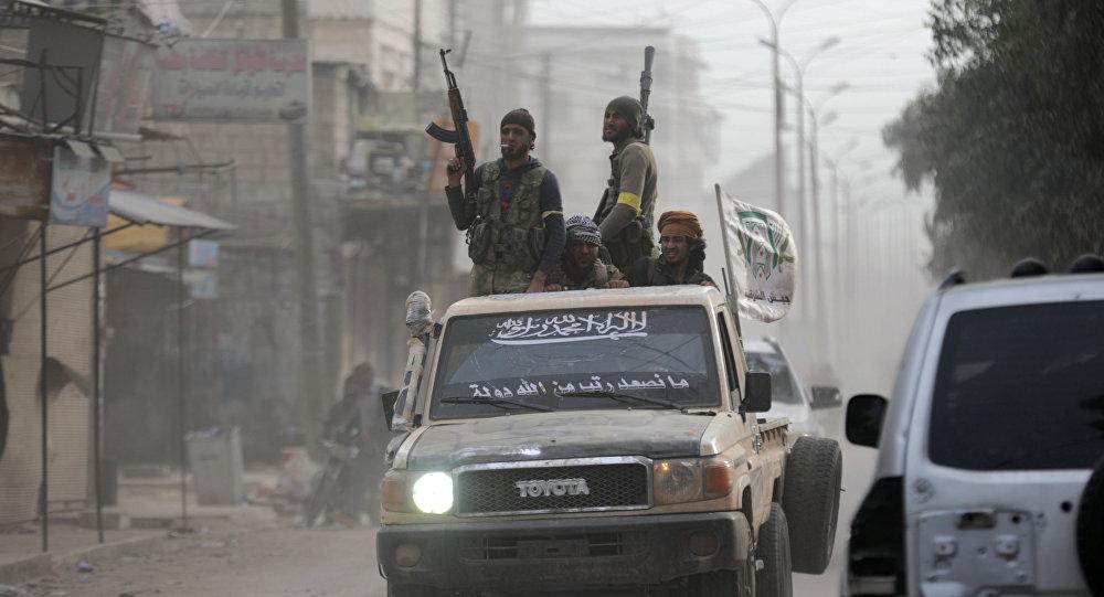Los combatientes del Ejército Libre Sirio (archivo)