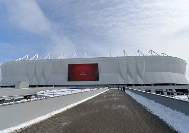 El estadio de fútbol Rostov Arena