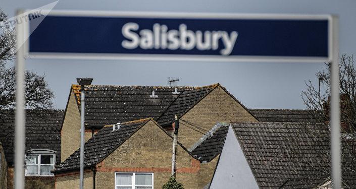 La ciudad de Salisbury, el Reino Unido