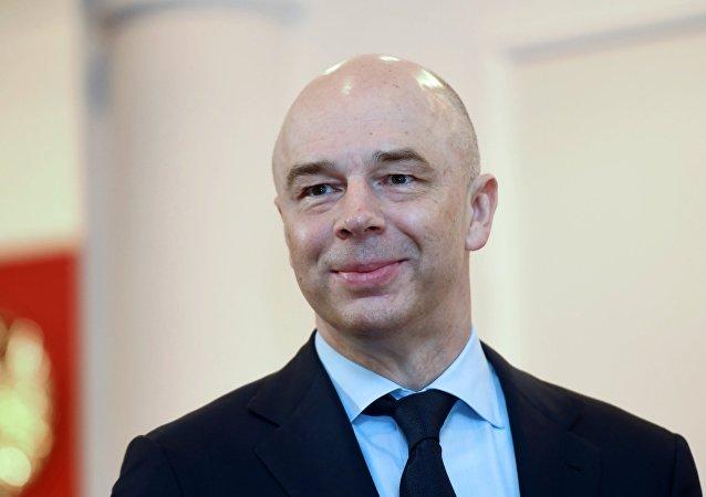 Ministro de Finanzas de la Federación Rusa, Antón Siluánov