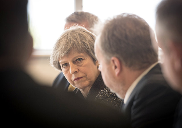 Theresa May, la jefa del Gobierno británico