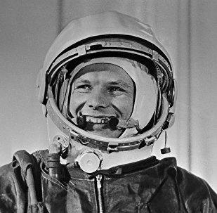 Yuri Gagarin, cosmonauta soviético (archivo)