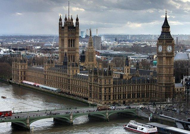 Palacio de Westminster, sede del Parlamento británico (archivo)